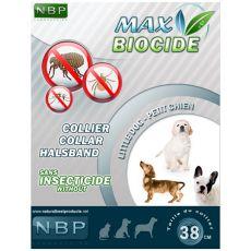 MAX BIOCIDE paraziták elleni nyakörv kiskutyáknak - 38 cm