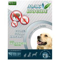 MAX BIOCIDE Antiparaziták elleni nyakörv nagy kutyáknak - 75 cm
