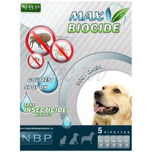 MAX BIOCIDE Paraziták elleni cseppek kutyáknak, 5 db