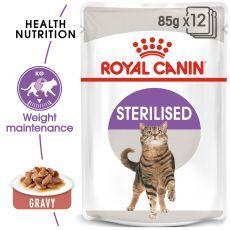 Royal Canin STERILISED 12 x 85 g - alutasak